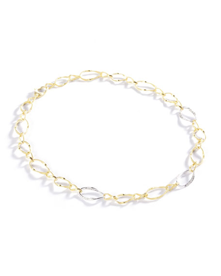 Marco Bicego Marrakech Onde Twisted Link Necklace
