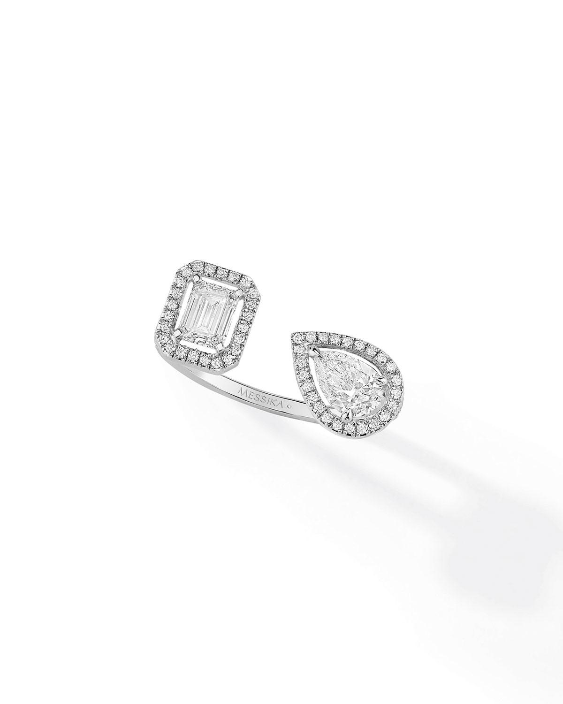My Twin Toi & Moi White Gold Diamond Ring