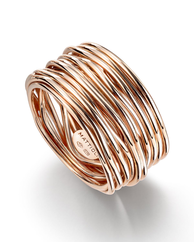 18k Rose Gold Tibet Ring