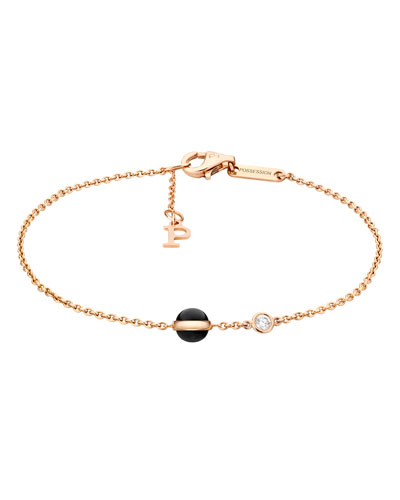 Possession Onyx & Diamond Station Bracelet
