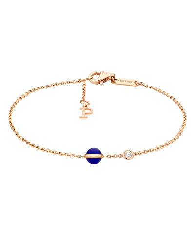 Possession Lapis & Diamond Station Bracelet