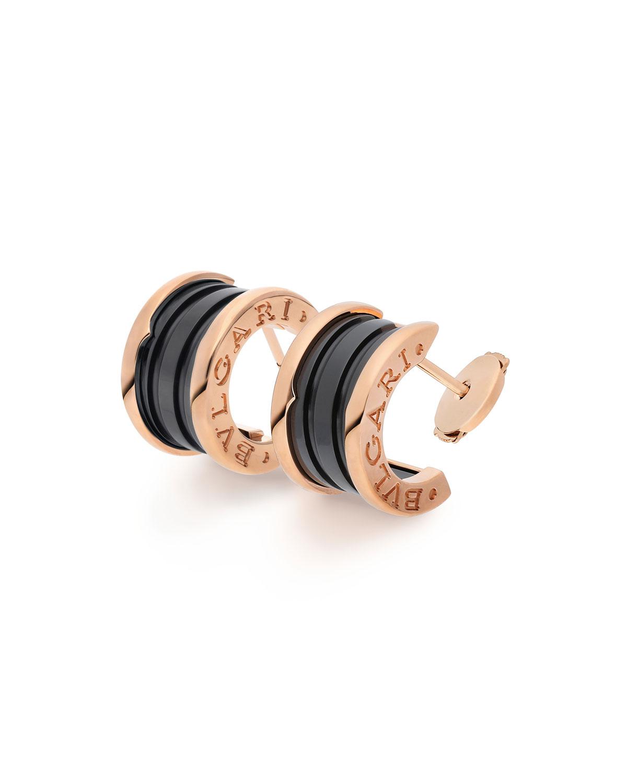 B.Zero1 Black Ceramic Earrings