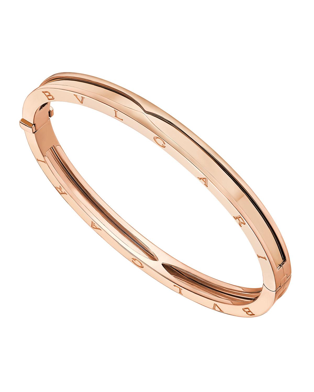 B.Zero1 18k Rose Gold Bangle Bracelet