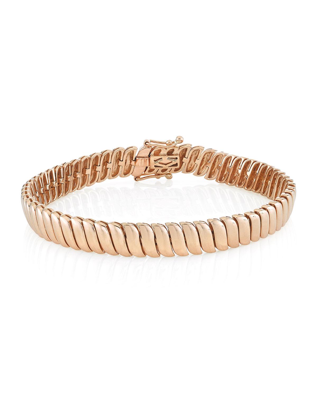 Zoe 18k Rose Gold Bracelet