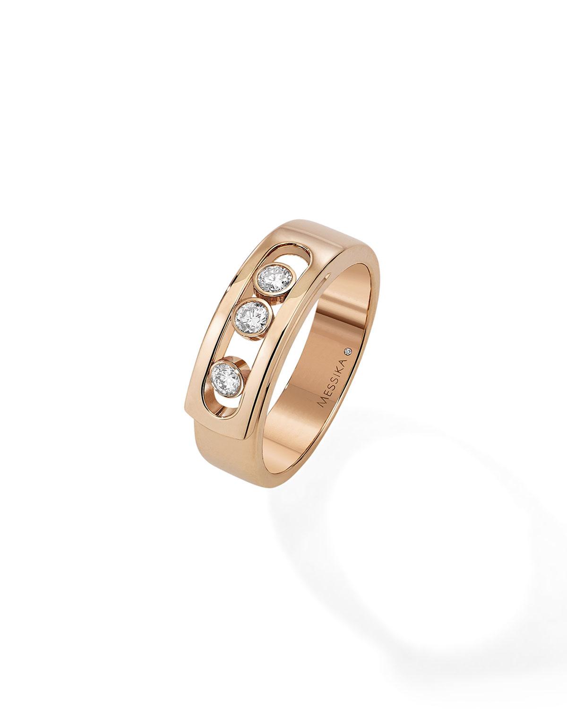 Move Noa Rose Gold 3-Diamond Ring