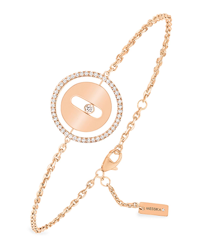 Lucky Move Diamond Bracelet in Pink Gold