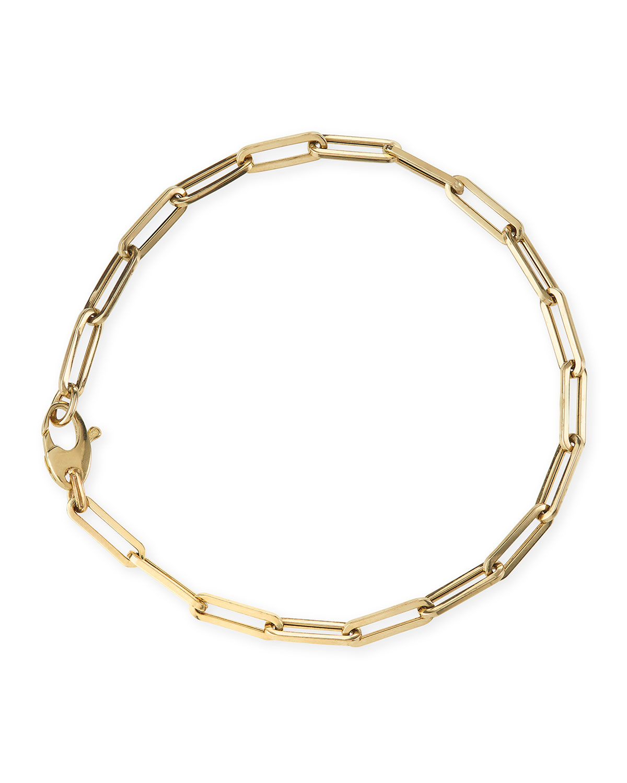 14k Small Link La Seta Bracelet