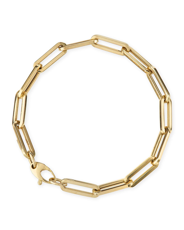 14k Medium Link La Seta Bracelet
