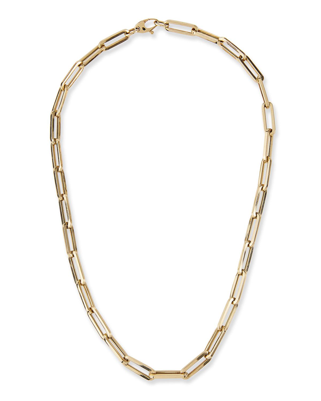 14k Medium Link La Seta Necklace