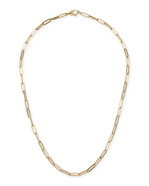 14k Small Link La Seta Necklace