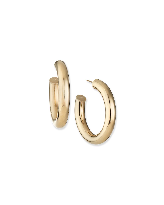 Santorini 14k Gold Hoop Earrings