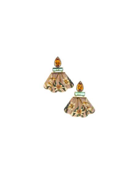 Silvia Furmanovich Marquetry Earrings