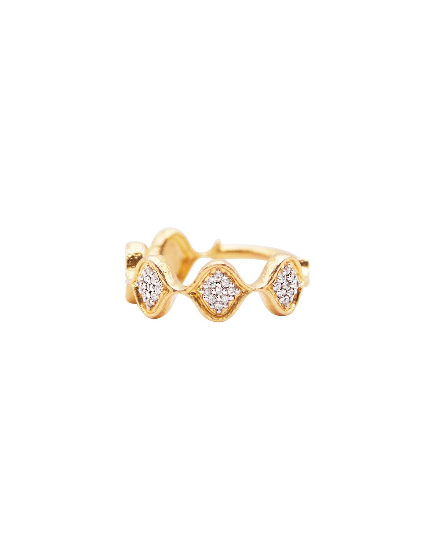 Pave Diamond Trellis Ring