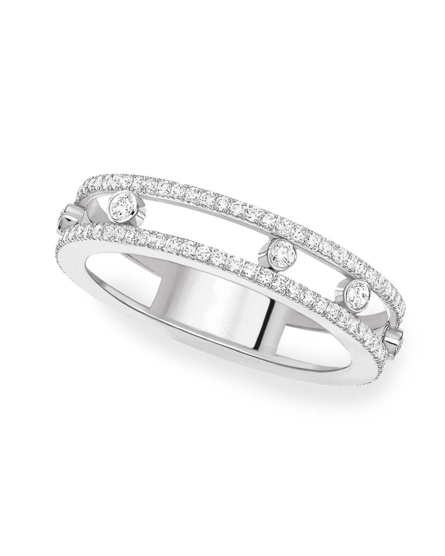 Move Romane 18k White Gold Diamond Eternity Ring