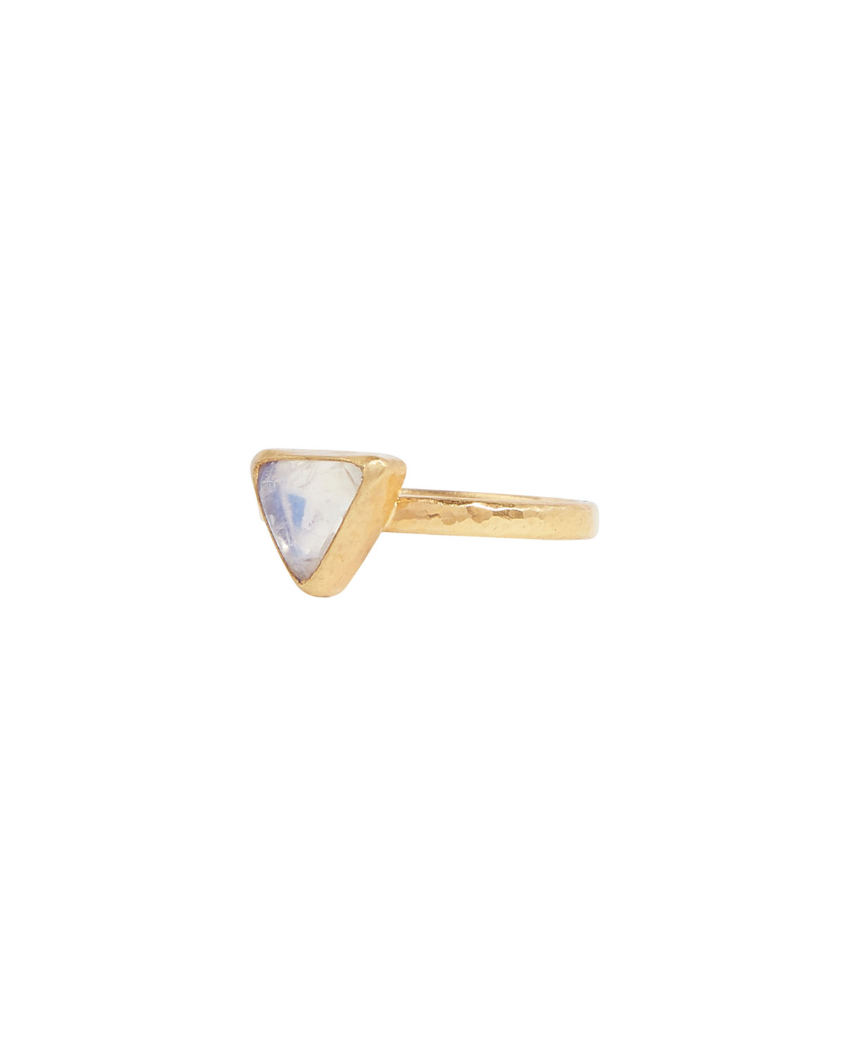 One-of-a-Kind 24k Moonstone Skittle Ring