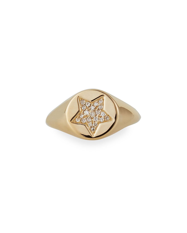 Celestial Star Pinky Ring