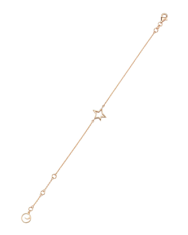 14k Rose Gold Sirius Diamond Bracelet