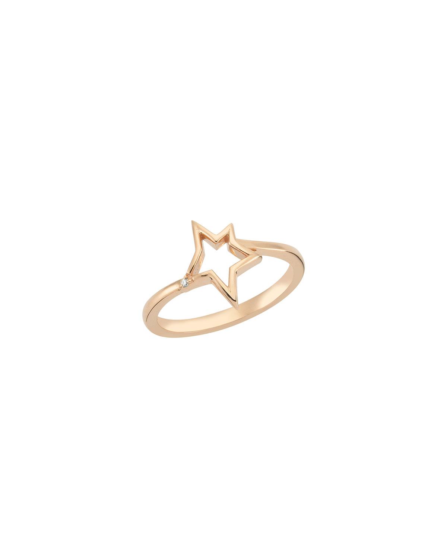 14k Rose Gold Sirius Star Ring