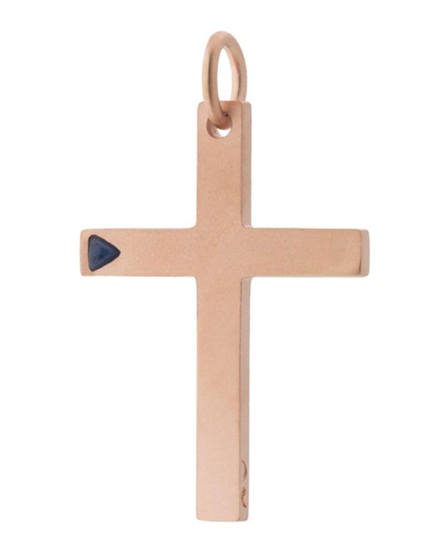 Rose Gold Plated Cross Pendant