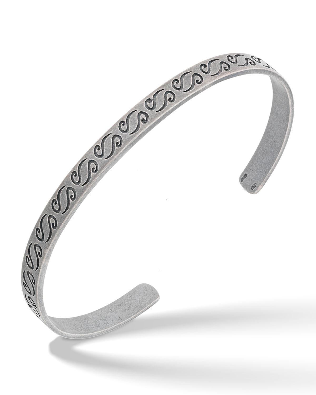 Ara Engraved Cuff Bracelet