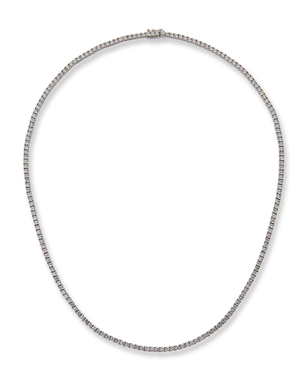 18k White Gold Diamond Choker Necklace