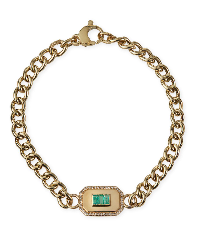 Champion Emerald Link Bracelet