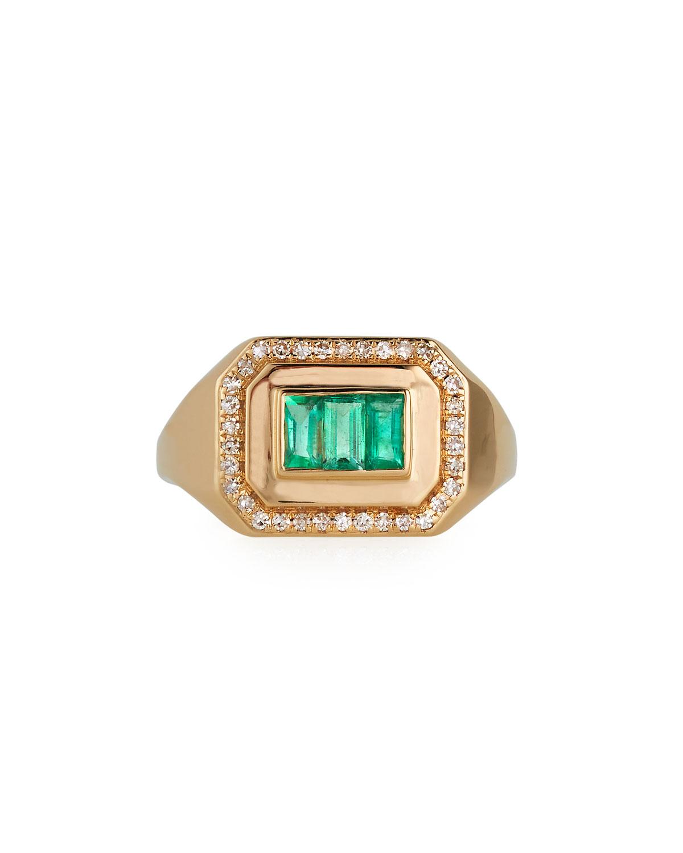 Champion Emerald Ring