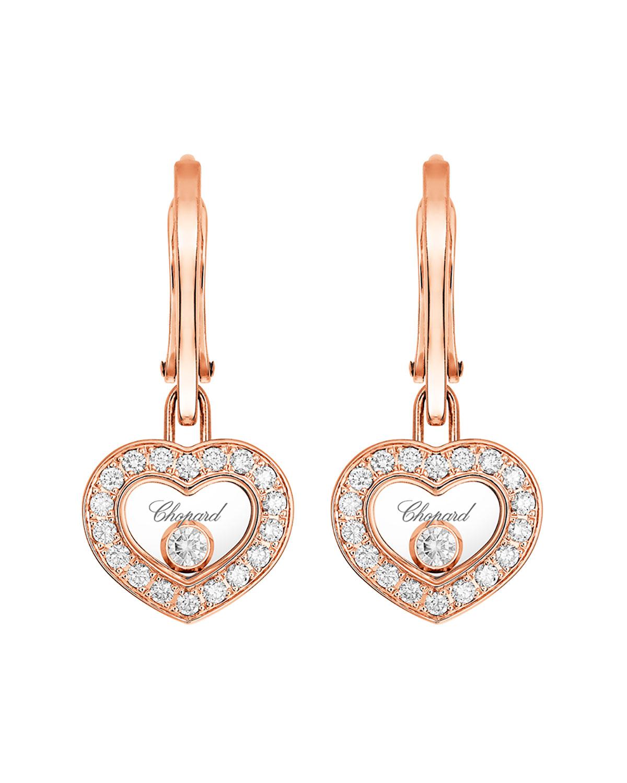 Happy Diamonds Heart Drop Earrings