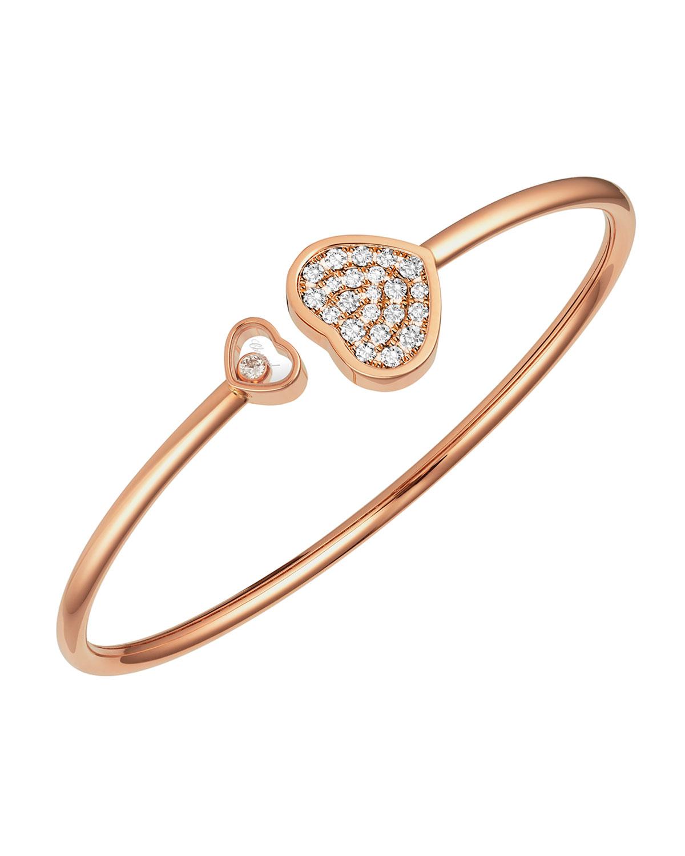 Happy Heart Diamond and Pave Bracelet