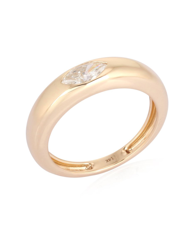 Gypsy Marquis Diamond Ring