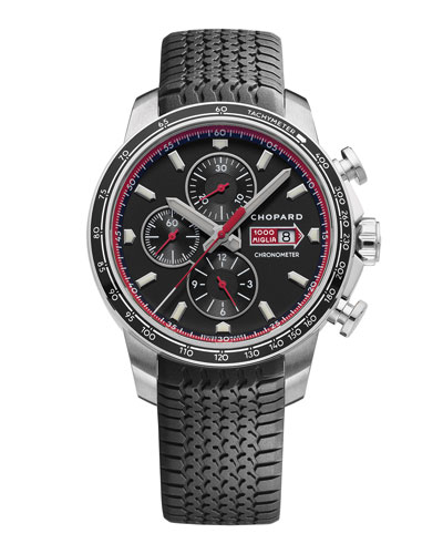 Men's Mille Miglia 44mm Classic Racing Chronograph Watch