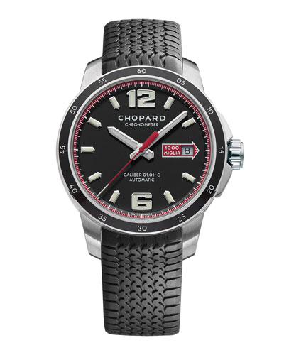 Men's Mille Miglia 43mm Chronograph Watch
