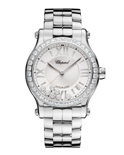 Happy Sport Watch with Diamonds