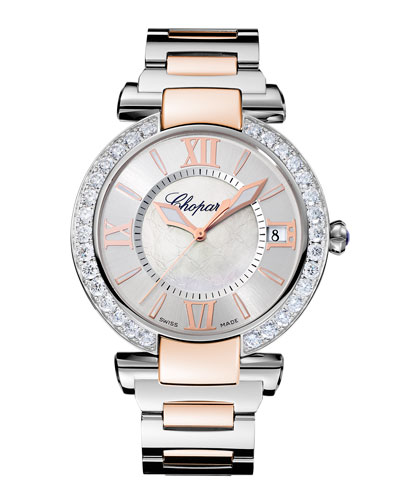 Imperial Two-Tone 40mm Watch with Diamonds