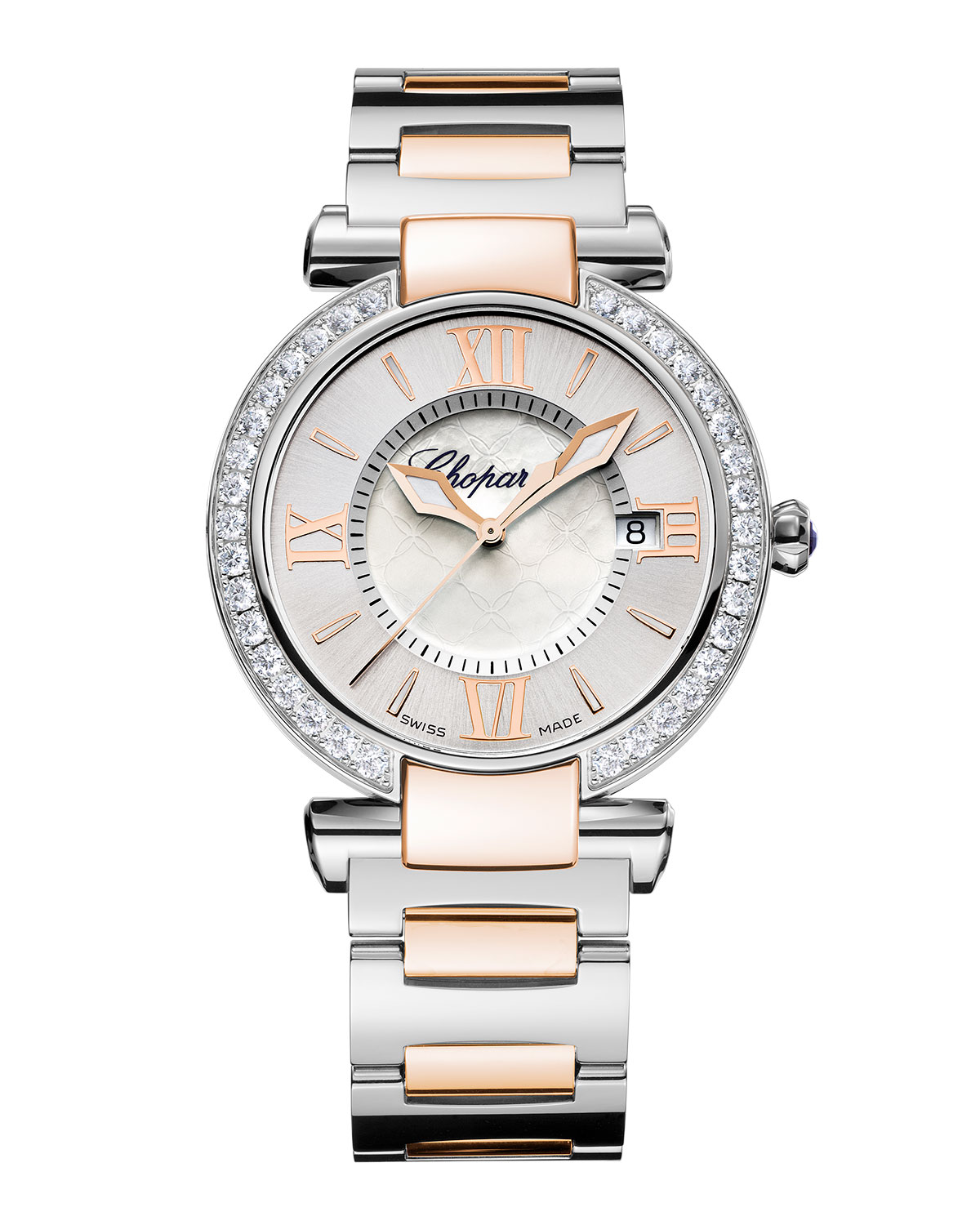 Imperiale Two-Tone 36mm Watch with Diamonds