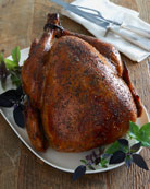 Chardonnay Herb Turkey, For 10 People