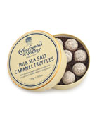 Milk Sea Salt Caramel Truffles