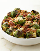 Brussels Sprouts with Pancetta, For 6-8 People