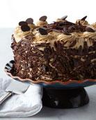 Frosted Art Bakery Chocolate Mocha Cake