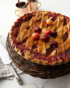 Deep-Dish Cherry Pie, For 10-12 People
