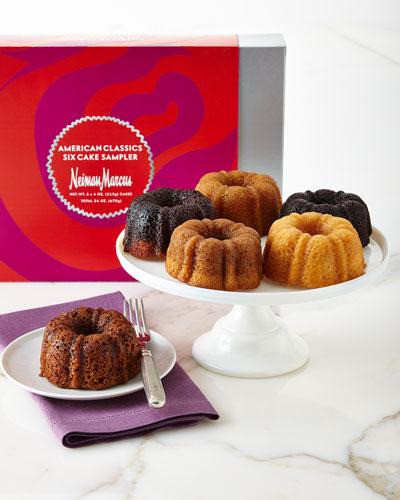 Six-Cake American Classic Sampler