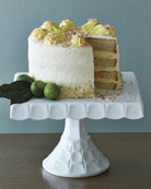Key Lime Coconut Cake