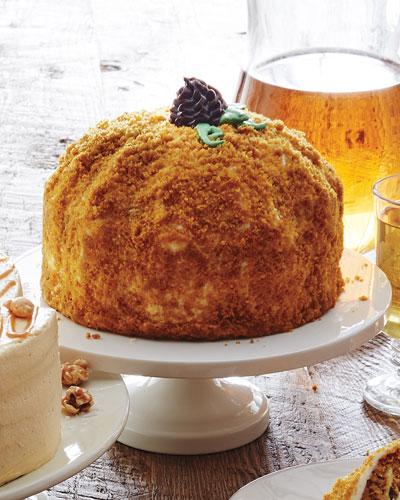 Pumpkin GIngersnap Cake