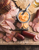 Ham, Summer Sausage, & Cheese Set