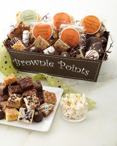 Grande Brownie Points Gift Basket