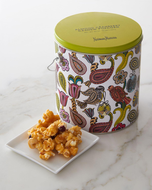 Cranberry Cashew Almond Candied Popcorn