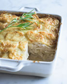 Aux Delices Creamy Potatoes Au Gratin