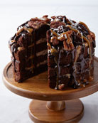 Nutty Caramel Coconut Cake, For 8 People