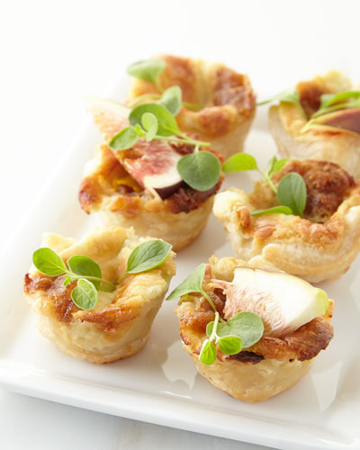Fig, Apple, & Onion Jam Pastry Kisses, For 13 People