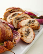 Bacon-Wrapped Stuffed Chicken Breasts
